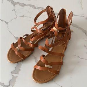 Breckelles Sandals Tan NEW 7
